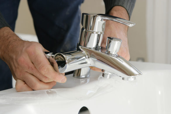 comment nettoyer acier robinet