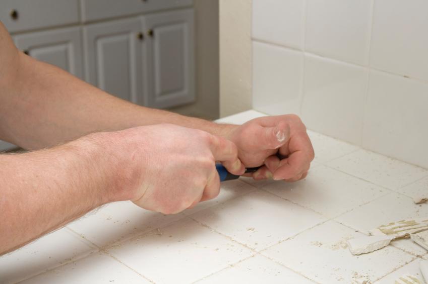gratter silicone durci spatule