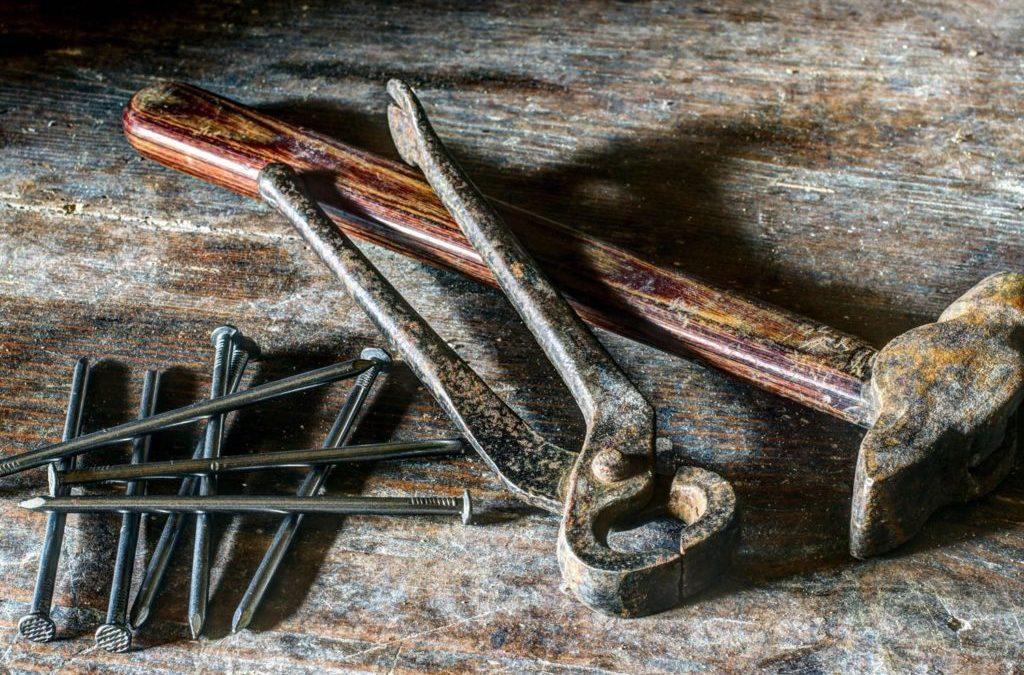 Comment enlever naturellement la rouille sur vos outils  ?