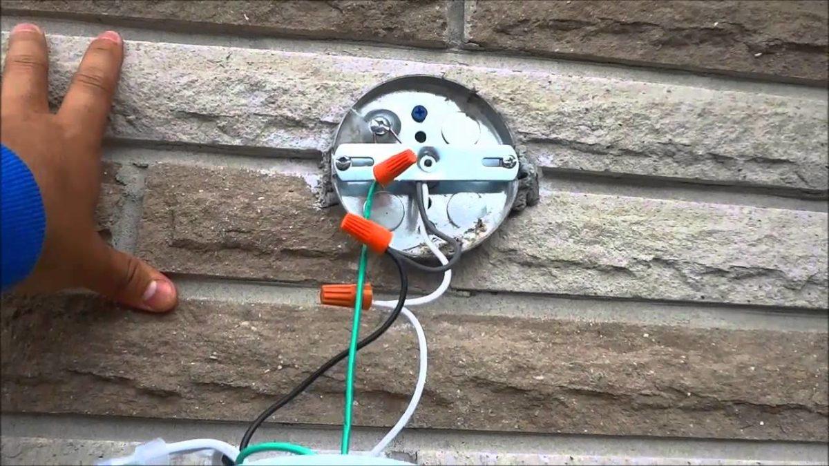 Comment raccorder des éclairages extérieurs?