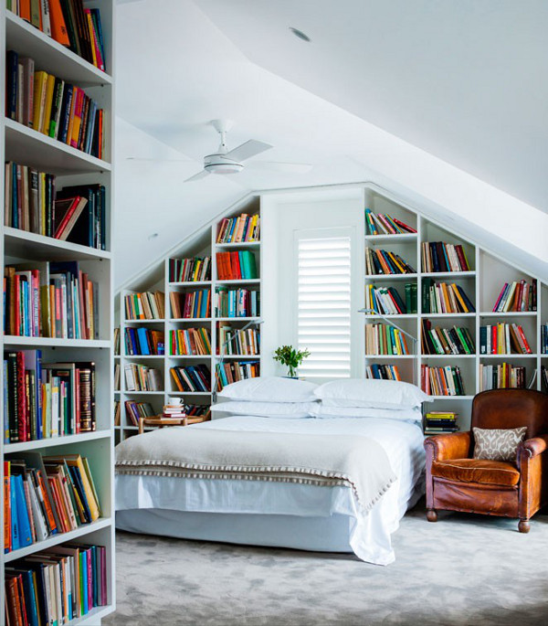 bibliotheque chambre