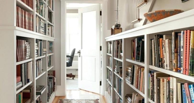 bibliotheque couloir