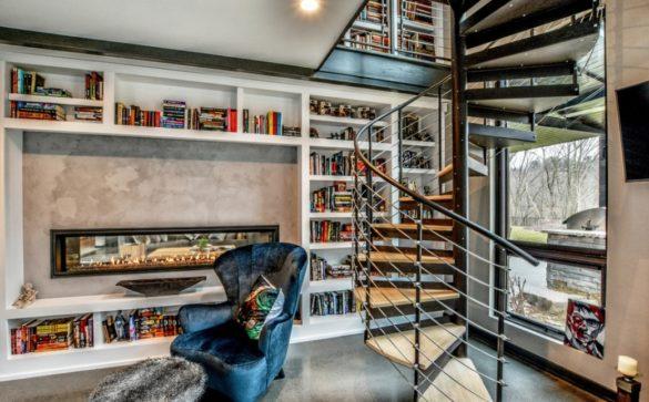 bibliotheque maison