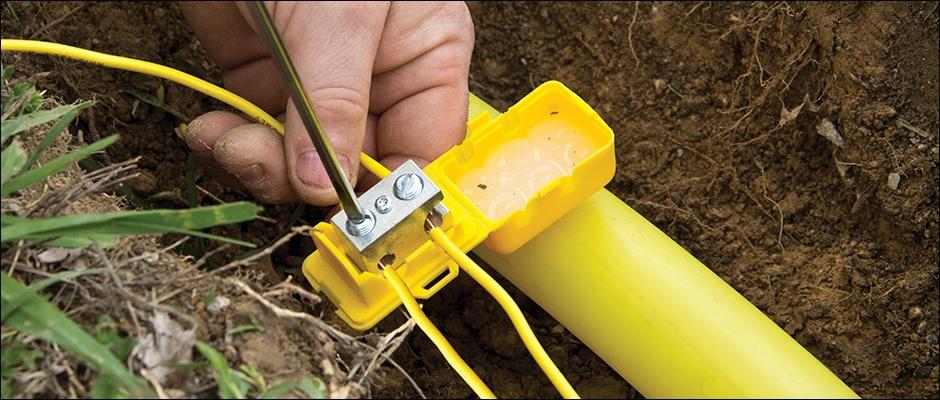 enterrer cable electrique jardin