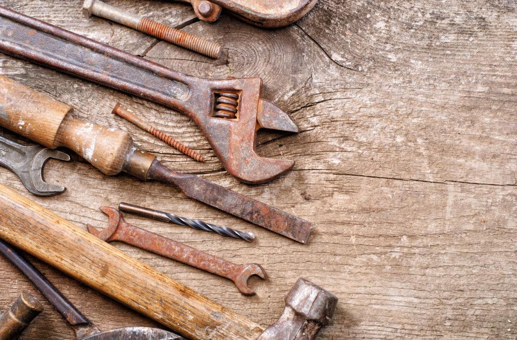 Comment enlever et éviter la rouille sur ses outils de bricolage