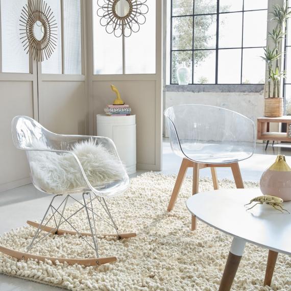 chaise plexiglas