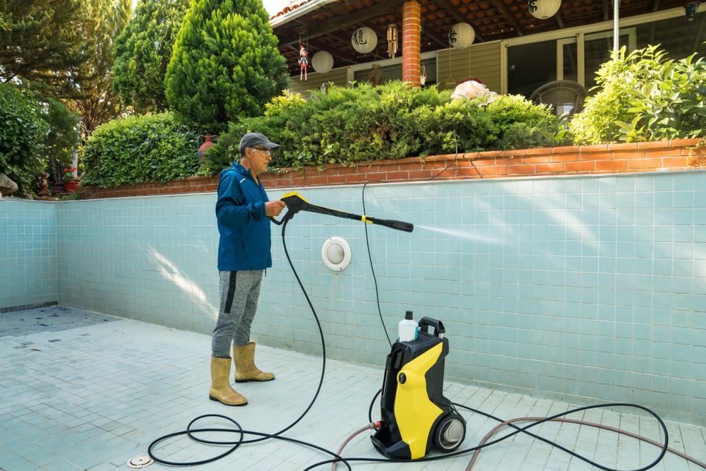 karcher pour nettoyer piscine