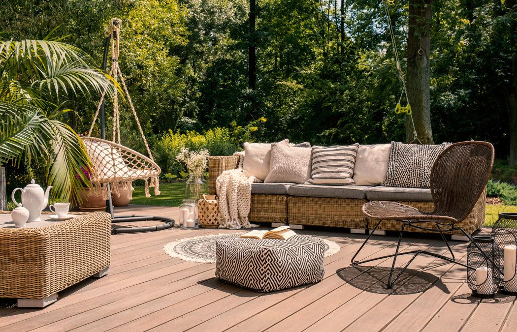 6 idées pour aménager une terrasse plein sud
