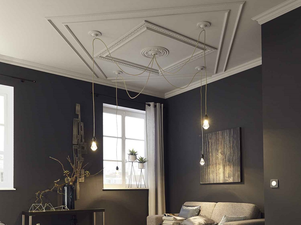 type moulure plafond