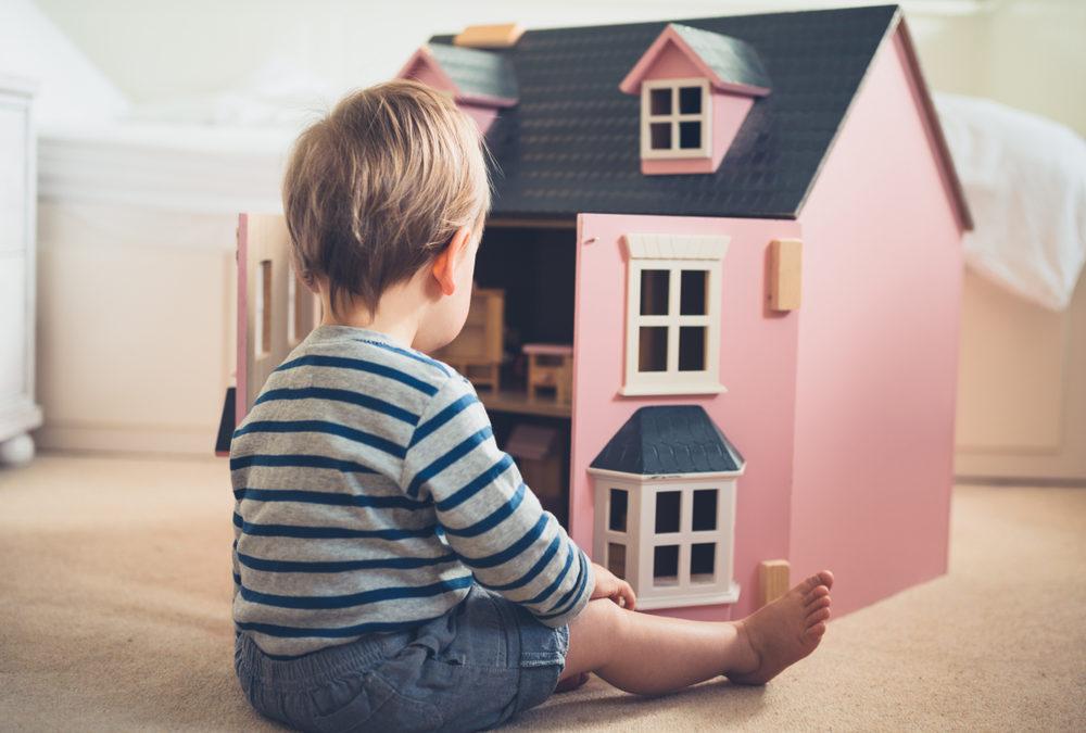 Comment fabriquer une maison de poupées?