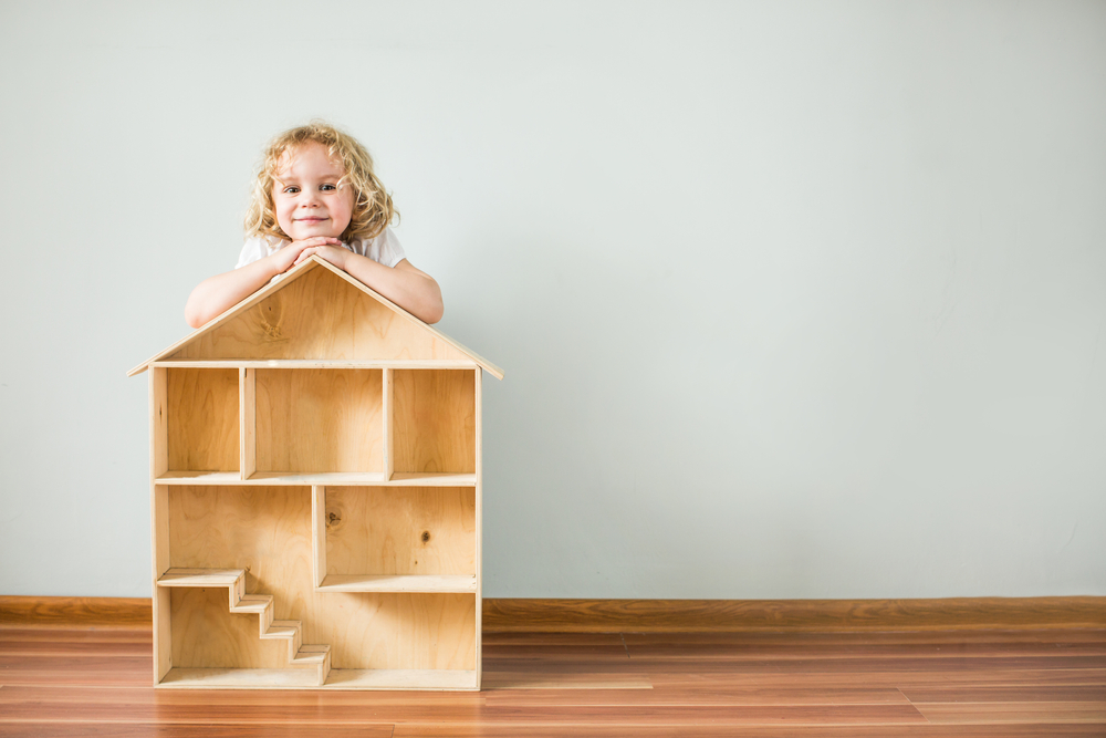 construire maison de poupées