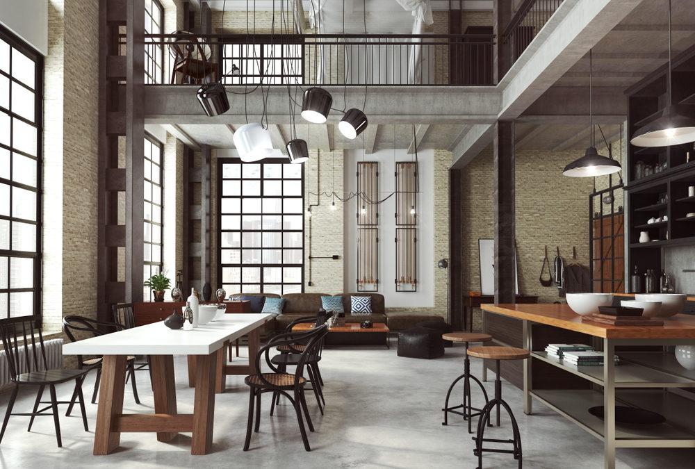 Quel mobilier industriel choisir pour un maxi effet