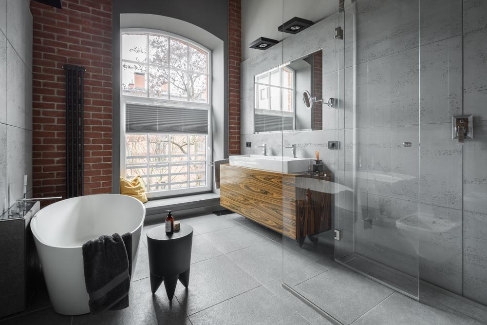 meuble industriel salle de bain