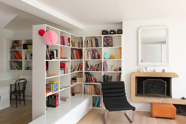 séparer pièce avec bibliothèque