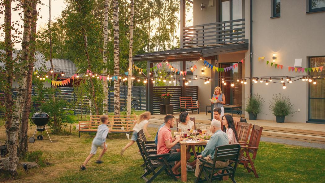 table jardin extensible