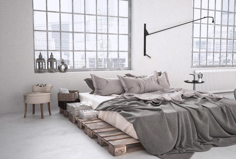 Chambre style industriel, les codes